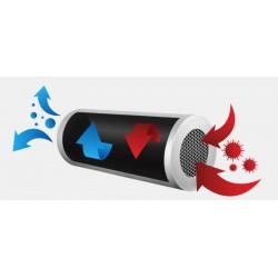 DEZI AIR LED stena - UV sterilizátor a rollup