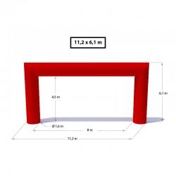 Nafukovacia brána - Obdĺžnik
