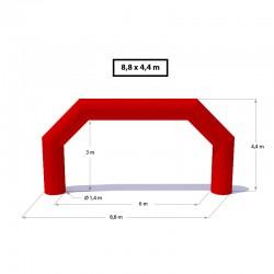 Nafukovacia brána - Polygón