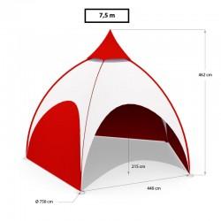 Stan DOME 7.5m priemer (5 nôh)