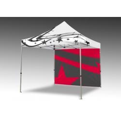 stan nožnicový PRINTED 3x3m, potlačená strecha, hliníková konštrukcia