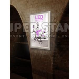 Rámik QUADRA LED BASIC (bez tlače)