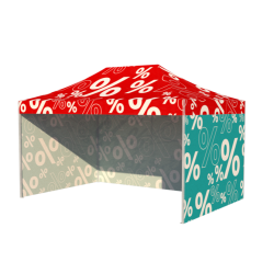 stan RED Junior SET 3x4,5m CELOPOTLAČ, 3 bočné steny