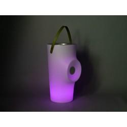 Garden WOODOO nádoba na fľaše s reproduktorom a osvetlením PLAY