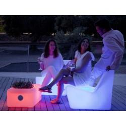 Garden TARIDIA TABLE hudobný svetelný stolík PLAY / nádoba na fľaše