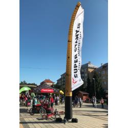 Vlajka pneumatická BIG 8M výška