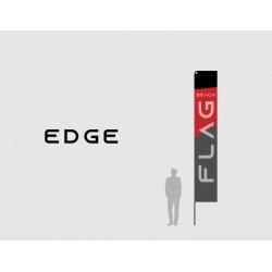 Vlajka EDGE (s tlačou, bez kotvenia, taška)